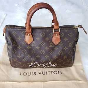 VINTAGE LOUIS VUITTON SPEEDY 25 😍😍😍